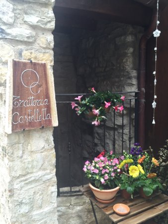 Fabriano, Italien: Trattoria Castelletta
