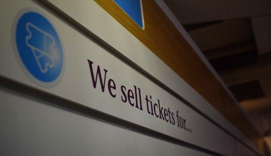 Edinburgh VisitScotland Information Centre: Tickets
