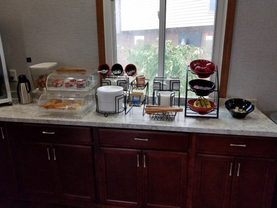 Lewiston, Nova York: Complimetary Breakfast