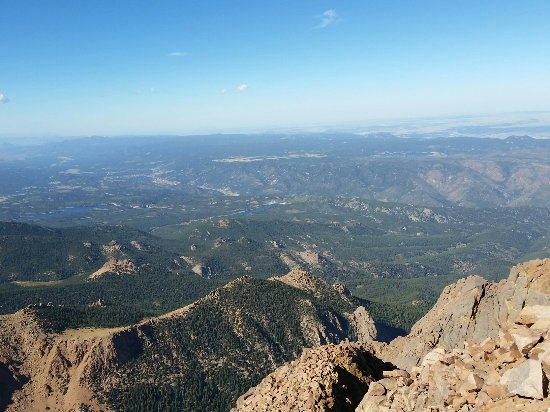 Pikes Peak views on a cloudless September day - Picture of ...