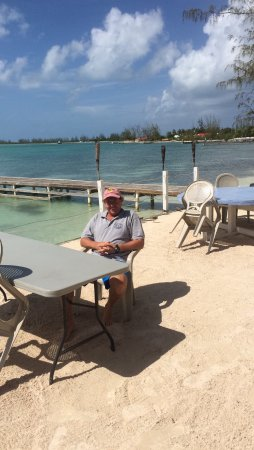 Road Town, Tortola: Sitting by Anegada reef hotel