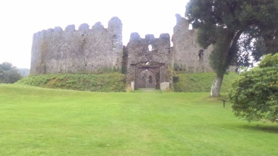 Lostwithiel, UK: Restorm castle
