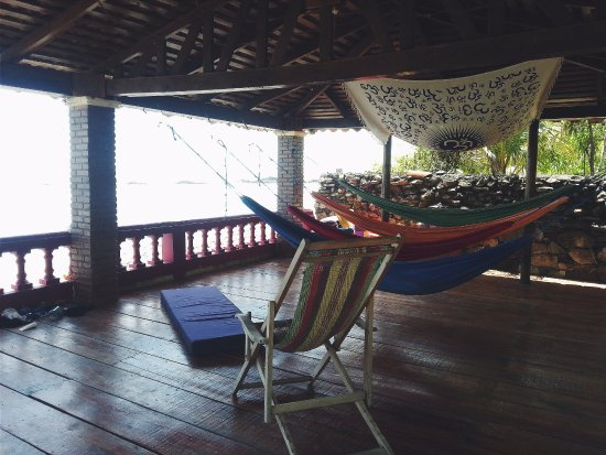 El Transito, Nicaragua: Yoga deck