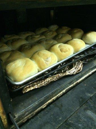 Vernon, Kanada: fresh baked hamburger buns are delicious