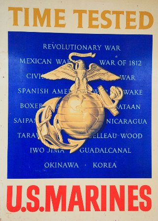 Wasta, SD: U.S. Marines Poster