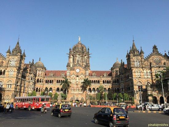 Chhatrapati Shivaji Terminus: View from across the street