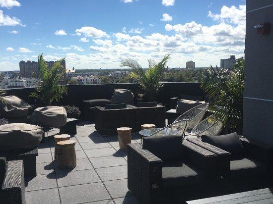Asbury Park, NJ: Rooftop bar VIP area