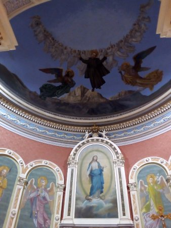 Isola del Gran Sasso d'Italia, Italia: presbiterio