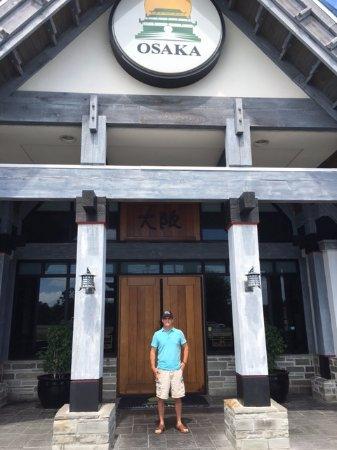 Osaka Japanese Hibachi Steakhouse & Sushi Bar: My husband