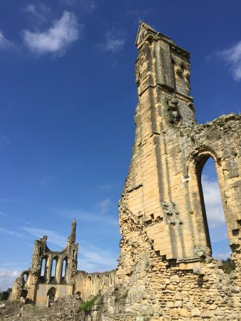 Byland Abbey near Coxwold north yorkshire