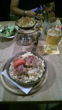 Columbusbräu: Nos plats