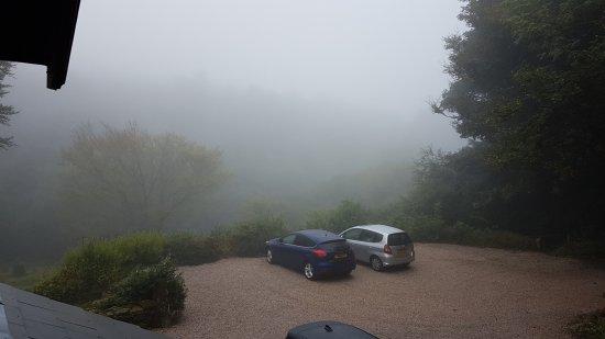 Postbridge, UK: Morning mists.
