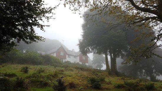 Postbridge, UK: Misty morn