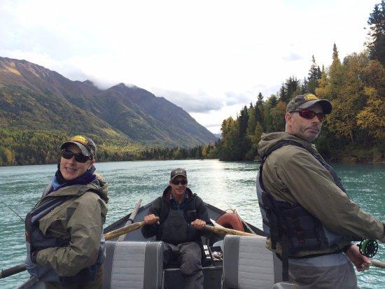 Kenai river floatin 39 and fishin 39 picture of kenai river for Cooper landing fishing