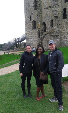 "Kells, Irland: At the Trim Castle, Ireland's largest Anglo-Norman castle and film location for ""Braveheart""."