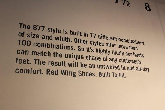เรดวิง, มินนิโซตา: Redwing for comfort and durability..