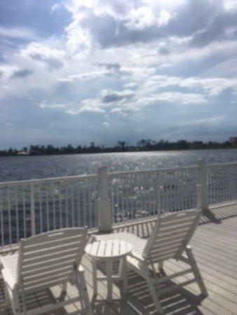 Marriott's Harbour Lake: Dock area overlooking lake