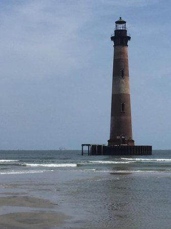 Folly Beach, Νότια Καρολίνα: Morris Island Lighthouse