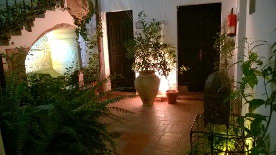 Posada San Fernando: cour intérieure, rez de chaussée