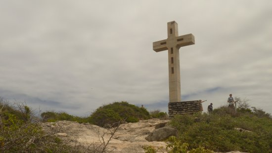 Pointe des Chateaux: La Croix