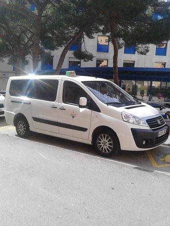 Taxi 8 Plazas Palamos