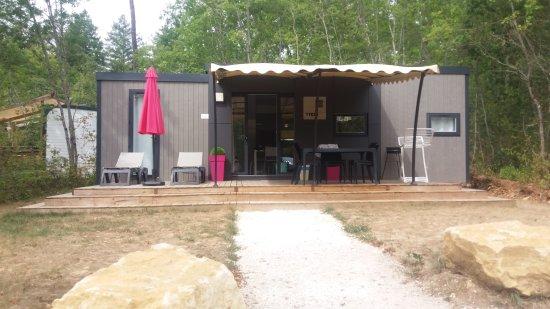 Camping La Palombiere: Hébergement TAOS