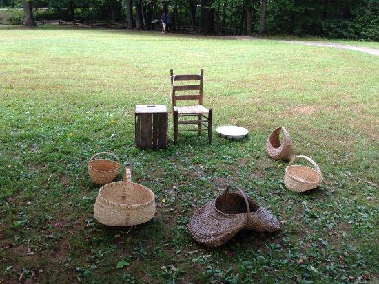 Meadows of Dan, VA: Handwoven baskets