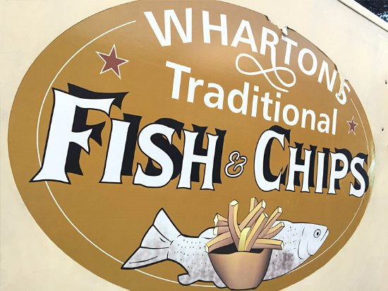 Whartons Traditional Fish & Chips: Wharton's Traditional Fish & Chips