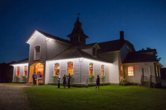 Park-McCullough House: Carriage Barn at Night