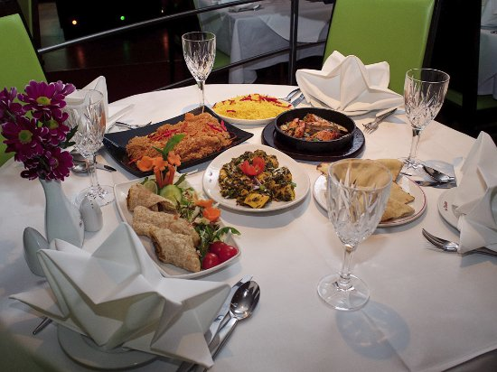 The Shahin: Combination of Dishes