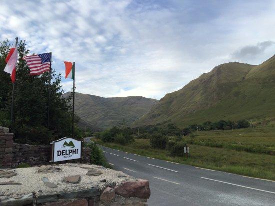 Delphi Resort: Main entrance