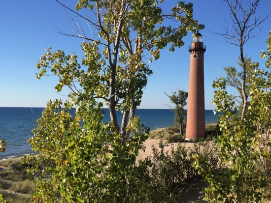 Mears, MI: This photo is unedited. No kidding!
