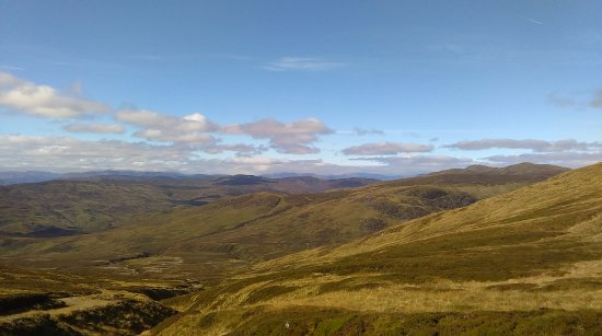 Perth and Kinross, UK: Halfway up