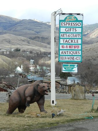 White Bird, ไอดาโฮ: Our 'Bear' is an Idaho Landmark