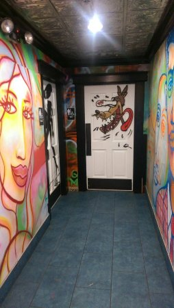 Cool Restrooms Decor Picture Of Pita Jungle Tempe