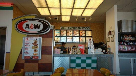 Heyburn, Αϊντάχο: A&W Restaurant