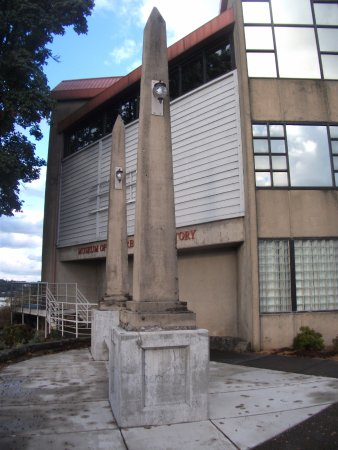 Oregon City, OR: The Obelisks at the museum