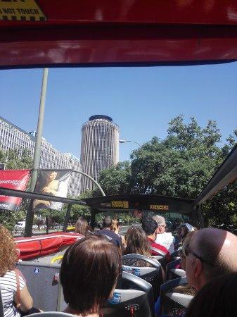 Madrid City Tour : Desde el bus...