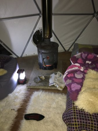 Newchurch, UK: Cosy Under Canvas