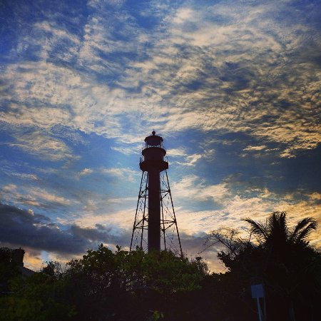 Sanibel Island, FL: Sanibel Lighthouse Dusk