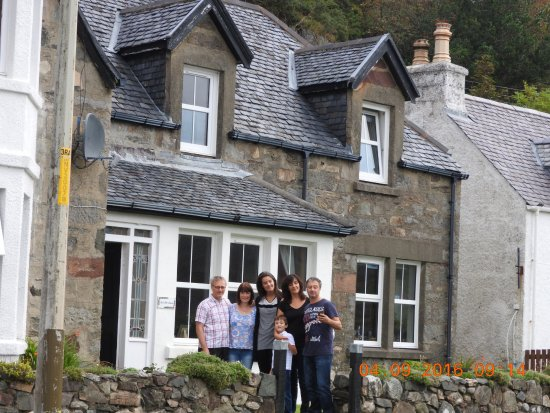 Balmacara, UK: La nostra famiglia e chi ci ha ospitato!