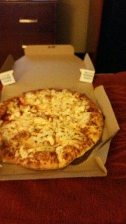 The pizza had no taste