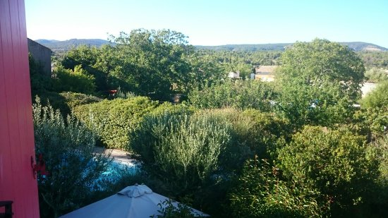 Trausse, Francia: View from the bedroom window