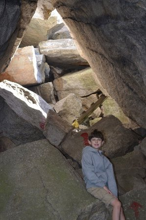 Mohonk Mountain House: Rock scramble