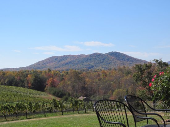 Mount Airy, Carolina do Norte: View from the Patio at Roundpeak