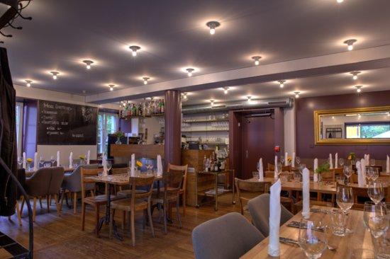 """Das schöne Restaurant """"Bunter Hund"""" von innen"""