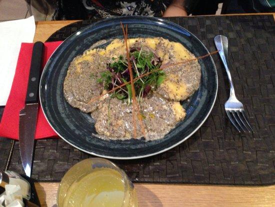 Sarcelles, Frankrig: Ravioli al tartufo!