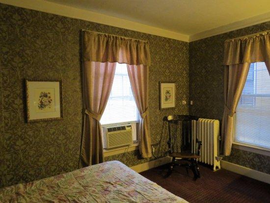 Torrington, CT: Room 353 when you open the door.