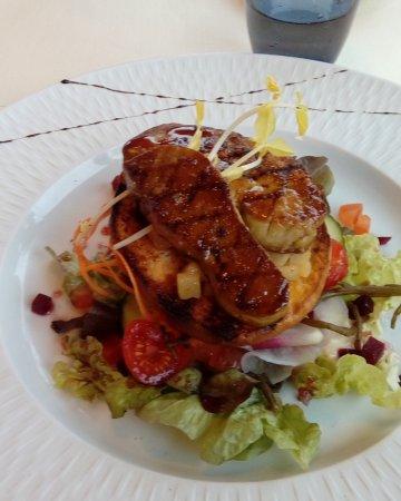 Etaples, Francja: Entree, foie gras du Canard