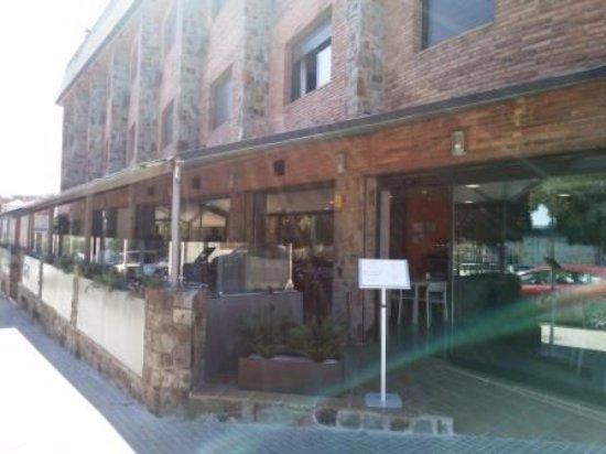 Rubi, Espanha: Entrada restaurante